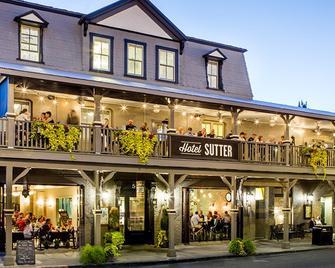 Hotel Sutter - Sutter Creek - Будівля
