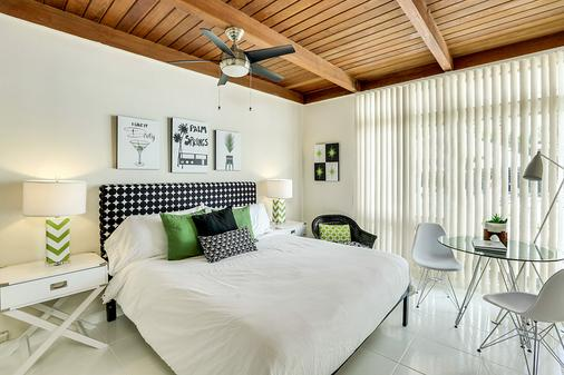 The Three Fifty Hotel - Palm Springs - Makuuhuone