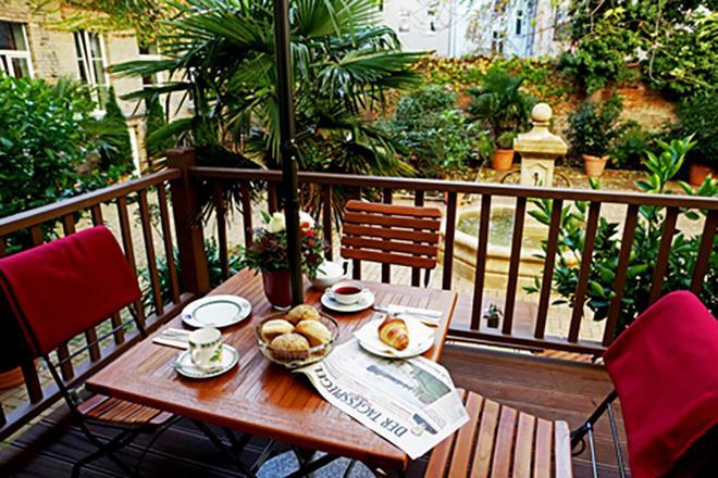 Garden Living - Boutique Hotel - Berlin - Balcony