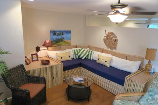 Kona Kai Motel - Sanibel - Living room