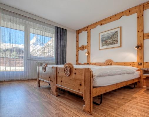 Pop-up Bed & Breakfast Zermatt - เซอร์แมท - ห้องนอน