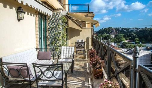 Hotel River Palace - Terracina - Balkon
