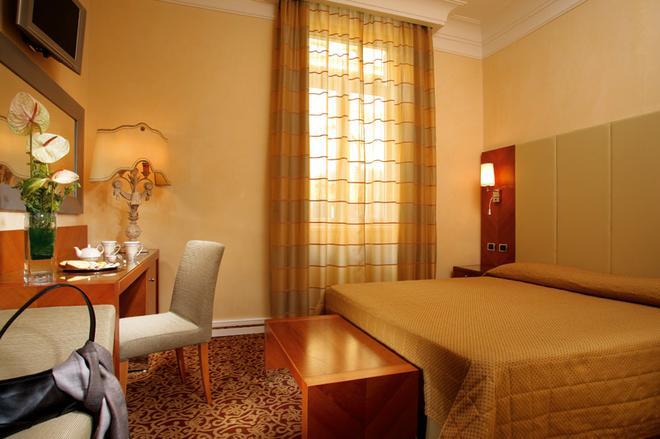 羅馬歌劇酒店 - 羅馬 - 羅馬 - 臥室