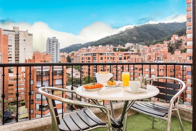 Hotel Rosales Plaza - Bogotá - Parveke