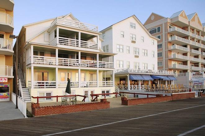 Majestic Hotel & Apartments - Ocean City - Edificio