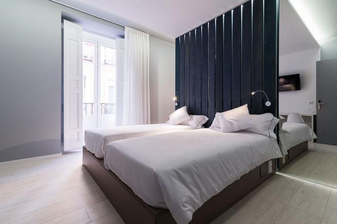 B&B Hotel Madrid Centro Fuencarral 52 - Madrid - Schlafzimmer