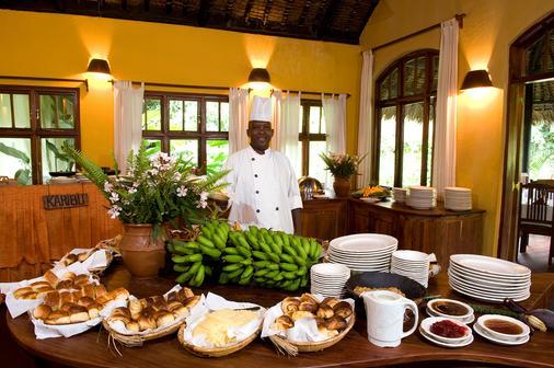 Moivaro Coffee Plantation Lodge - Arusha - Ruoka