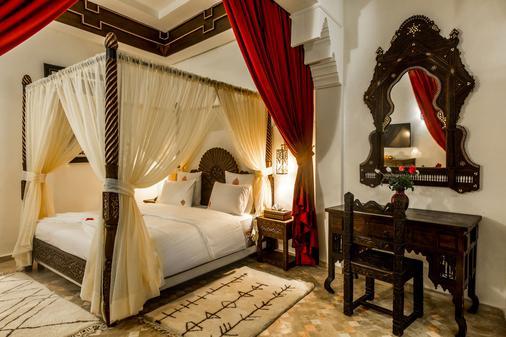 Hotel & Ryad Art Place Marrakech - Marrakesch - Schlafzimmer