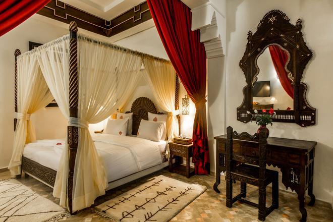 馬拉喀什里酒店與里亞德藝術廣場 - 馬拉喀什 - 馬拉喀什 - 臥室