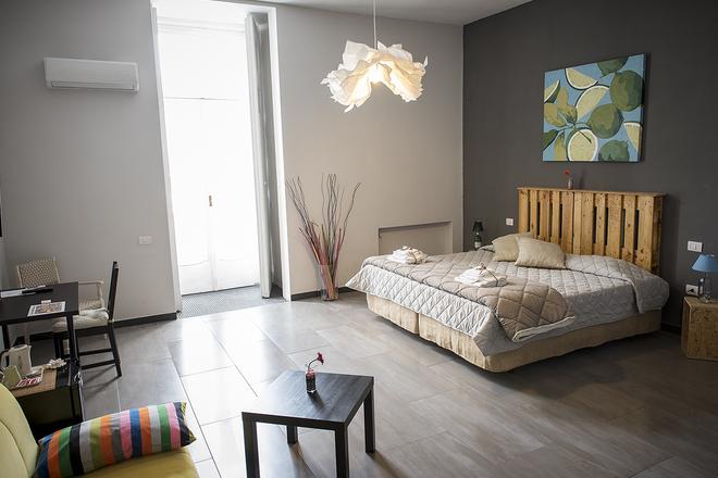 B&B Le 4 Stagioni Dante's Suites - Naples - Bedroom