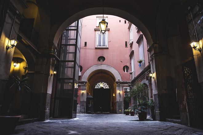 B&B Le 4 Stagioni Dante's Suites - Naples - Lobby