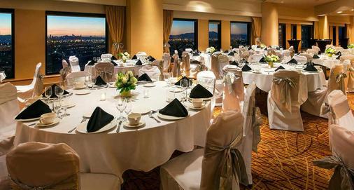 奧克蘭市中心萬豪酒店 - 奧克蘭 - 宴會廳