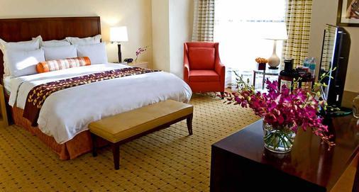 奧克蘭市中心萬豪酒店 - 奧克蘭 - 臥室