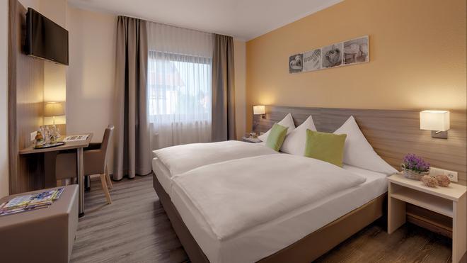 Gästehäuser Kappelmühle - Gruenstadt - Bedroom