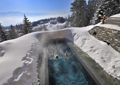 勒克蘭斯水療酒店 - 朗斯 - 克萊恩 蒙塔納 - 游泳池