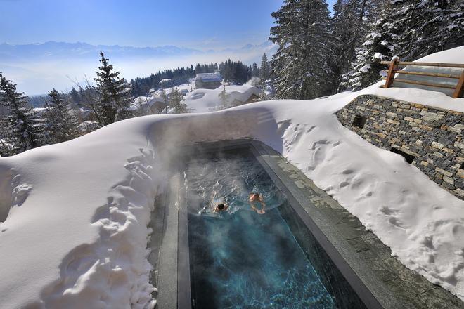 Lecrans Hotel & Spa - Crans-Montana - Pool