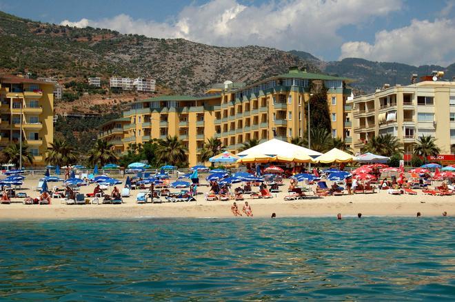 克列奧帕特拉德里姆斯海灘酒店 - 阿蘭亞 - 建築