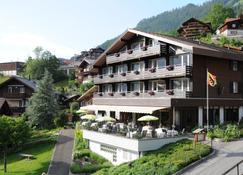 Hotel Bären Wengen - The place to rest - Lauterbrunnen - Building