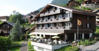 Hotel Bären Wengen - The place to rest - Lauterbrunnen - Gebouw