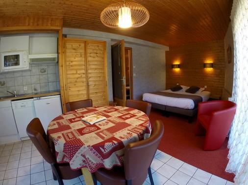 Hôtel Loisirs Les Côtes, Résidence Et Chalets - Morzine - Phòng ăn