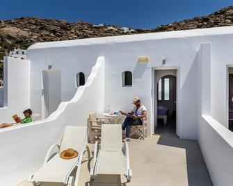 Pension Alexandra - Tourlos - Balkon