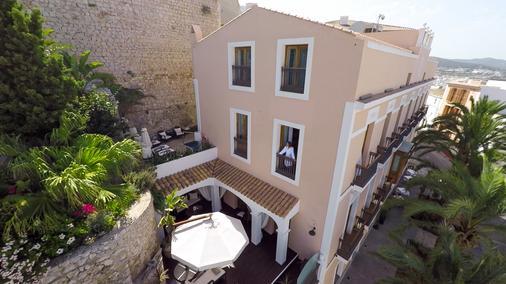 Mirador de Dalt Vila - Thị trấn Ibiza - Toà nhà