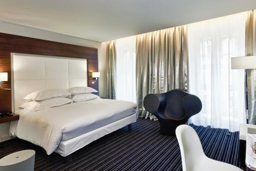 Le Grand Hotel Grenoble Centre - Grenoble - Bedroom