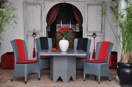 Riad Anyssates - Marrakesh - Dining room