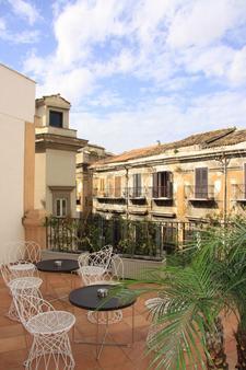 Hotel Palazzo Sitano - Παλέρμο - Βεράντα