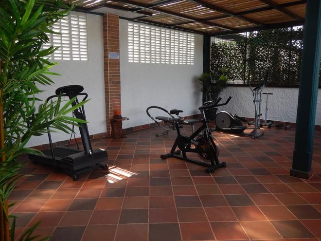 Hotel Boutique El Virrey - Honda - Gym