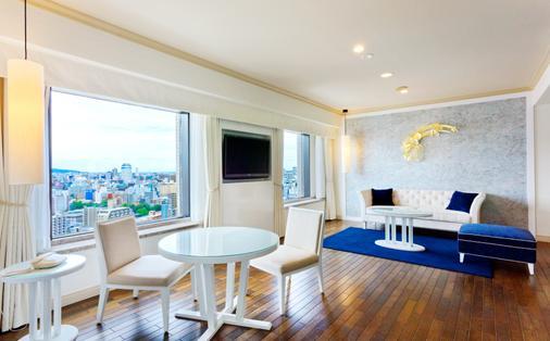 Premier Hotel Nakajima Park Sapporo - Sapporo - Living room