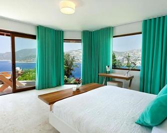 Hotel Villa Mahal - Adults Only - Калкан - Bedroom