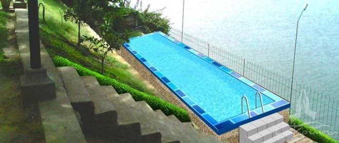 Lake Wind Hotel - Tissamaharama - Pool