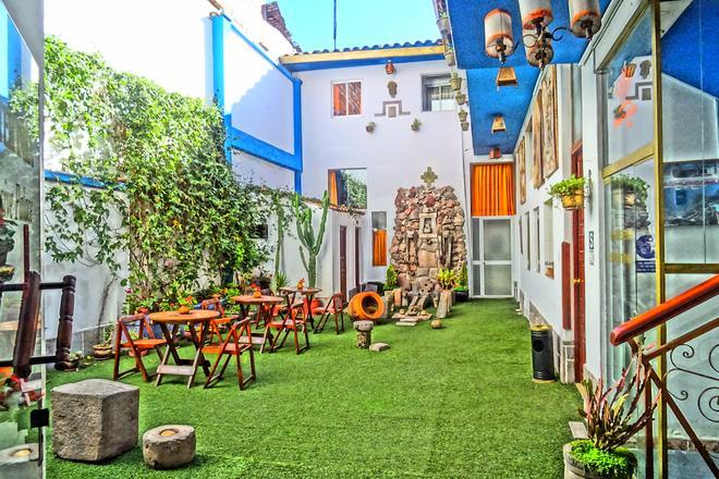Mister Inkas Hotel Inn Exclusive Palace - Cusco - Patio