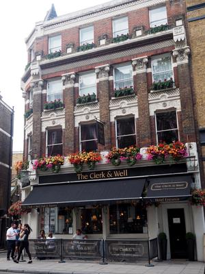 The Clerk & Well Pub & Rooms - London - Building