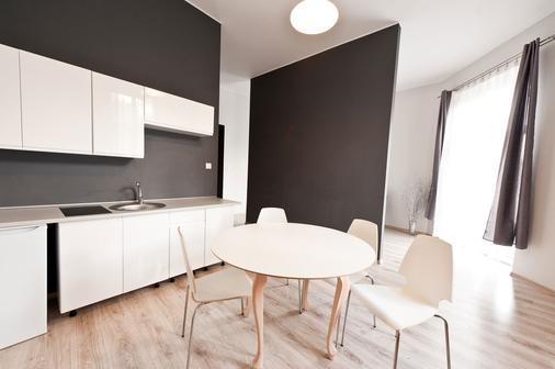 Platinum Aparthotel - Krakova - Ruokailuhuone