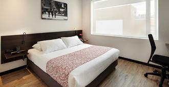 Hotel B3 Virrey - בוגוטה - חדר שינה