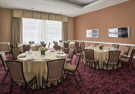 波士頓劍橋萬豪公寓酒店 - 劍橋 - 劍橋 - 宴會廳