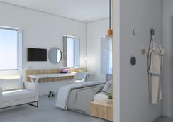 Strogili Hotel - Adults Only - Камари - Спальня