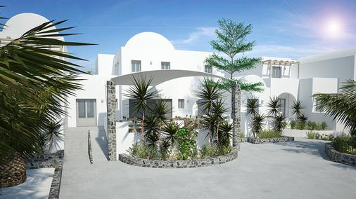 Strogili Hotel - Adults Only - Камари - Здание