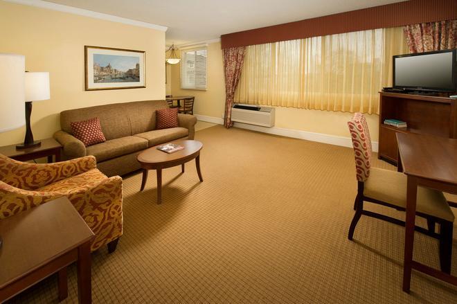 公園巷套房酒店 - 波特蘭 - 波特蘭(俄勒岡州) - 客廳