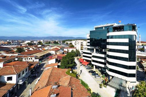 Hotel Arka - Skopje - Rakennus
