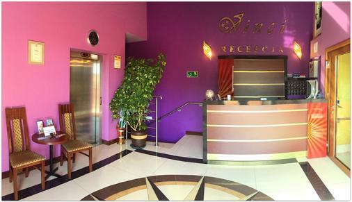Vinci Hotel Airport - Modlnica - Front desk