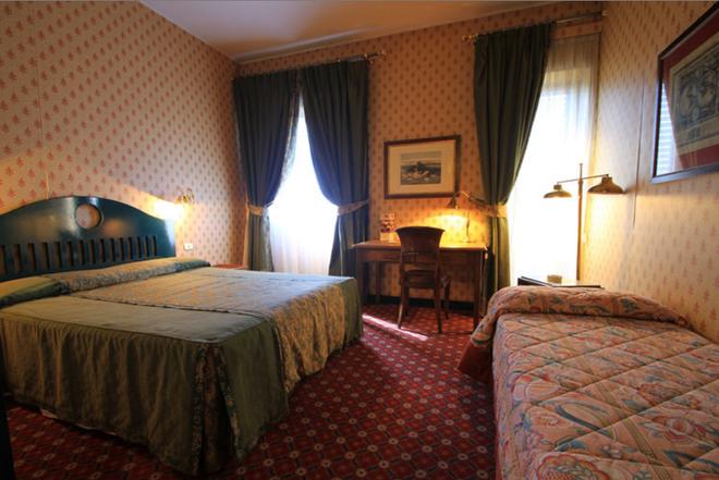 Colony Hotel - Rzym - Sypialnia