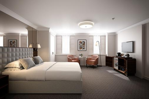 Strand Palace - London - Bedroom