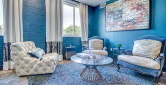 畢夏普藝術飯店 - 藍色閣樓 - 達拉斯 - 休閒室