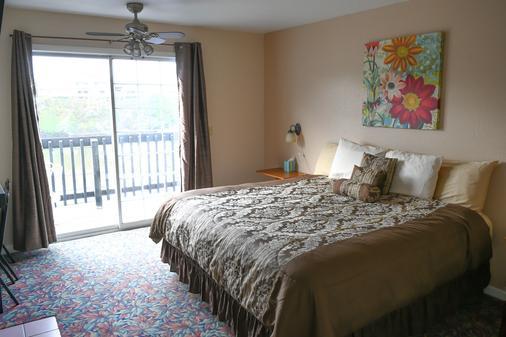 Depoe Bay Inn - Adults Only - Depoe Bay - Bedroom