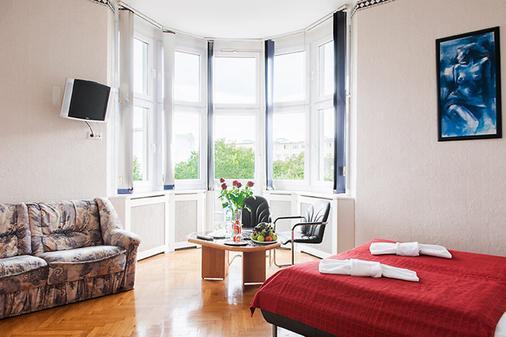 Hotel Bellevue am Kurfürstendamm - Berliini - Makuuhuone