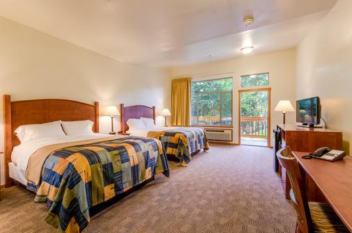 Westcliff Lodge - Hood River - Bedroom
