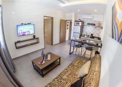 Viento Suites Cancún - Cancún - Wohnzimmer